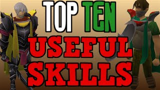 Top 10: Most Useful Skills! [Runescape 2014]