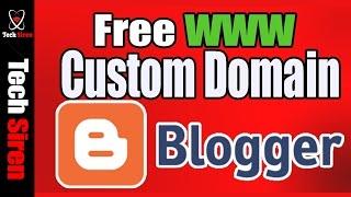 Blogger custom domain 2017  blogger setup domain