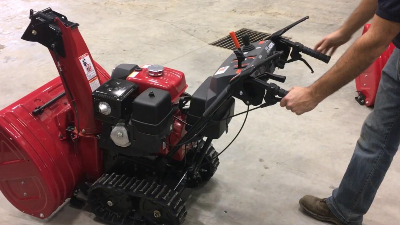 blowers bid auction snow item blower le honda equipment k