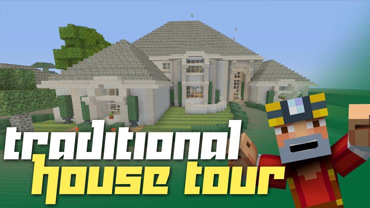 Minecraft Xbox 360: Traditional House Tour! (Cribcraft ... - photo#3