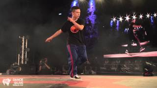小山 (TW) vs. SHUHO (JP) Final House DANCE@LIVE World Cup 2014