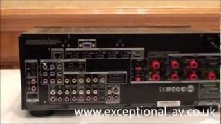 onkyo tx nr609 first look and review at the bristol show
