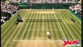 Wimbledon 2011 Maria Sharapova Grunt Montage