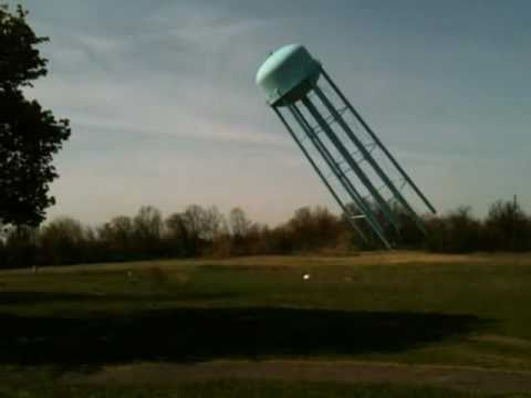 Northville Psychiatric Hospital - Water Tower Demolition