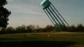 Northville Psychiatric Hospital - Water Tower Demolition