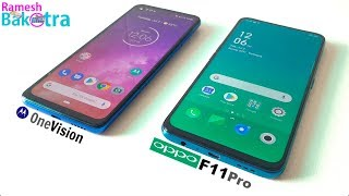 Motorola One Vision vs Oppo F11 Pro SpeedTest and Camera Comparison