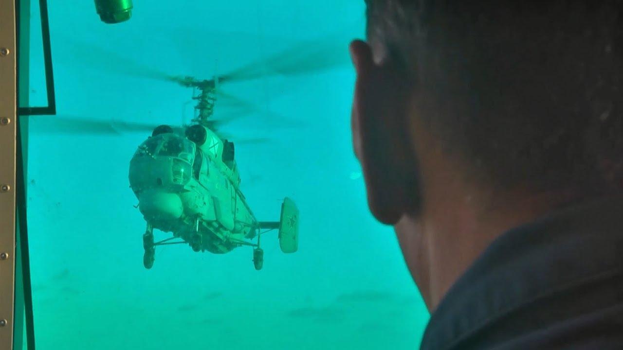Черноморский флот отработал взлёты и посадки вертолетов Ка-27 на фрегат «Адмирал Григорович»