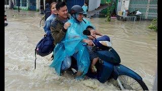 Нячанг после тайфуна Дамри во Вьетнаме