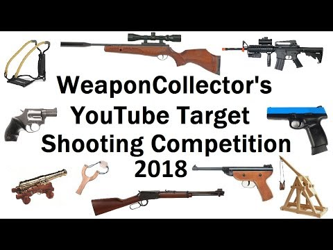 YouTube Target Shooting Competition 2018 - Want To Join In