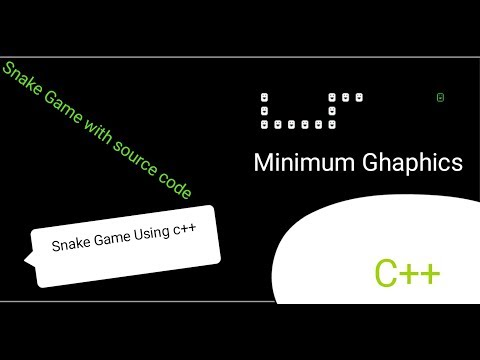 Snake Game Program In C++, With Source Code