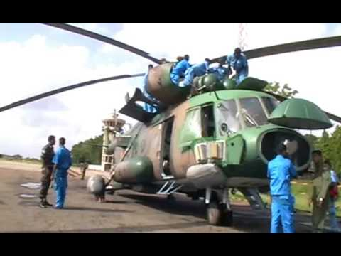 Sri Lanka Air Force - Maintance and Testing of MI-17 Helicopter