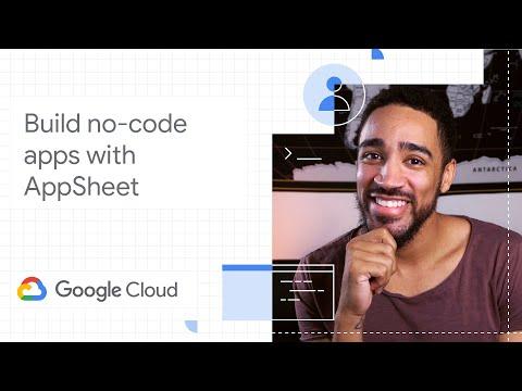Build no-code apps with AppSheet