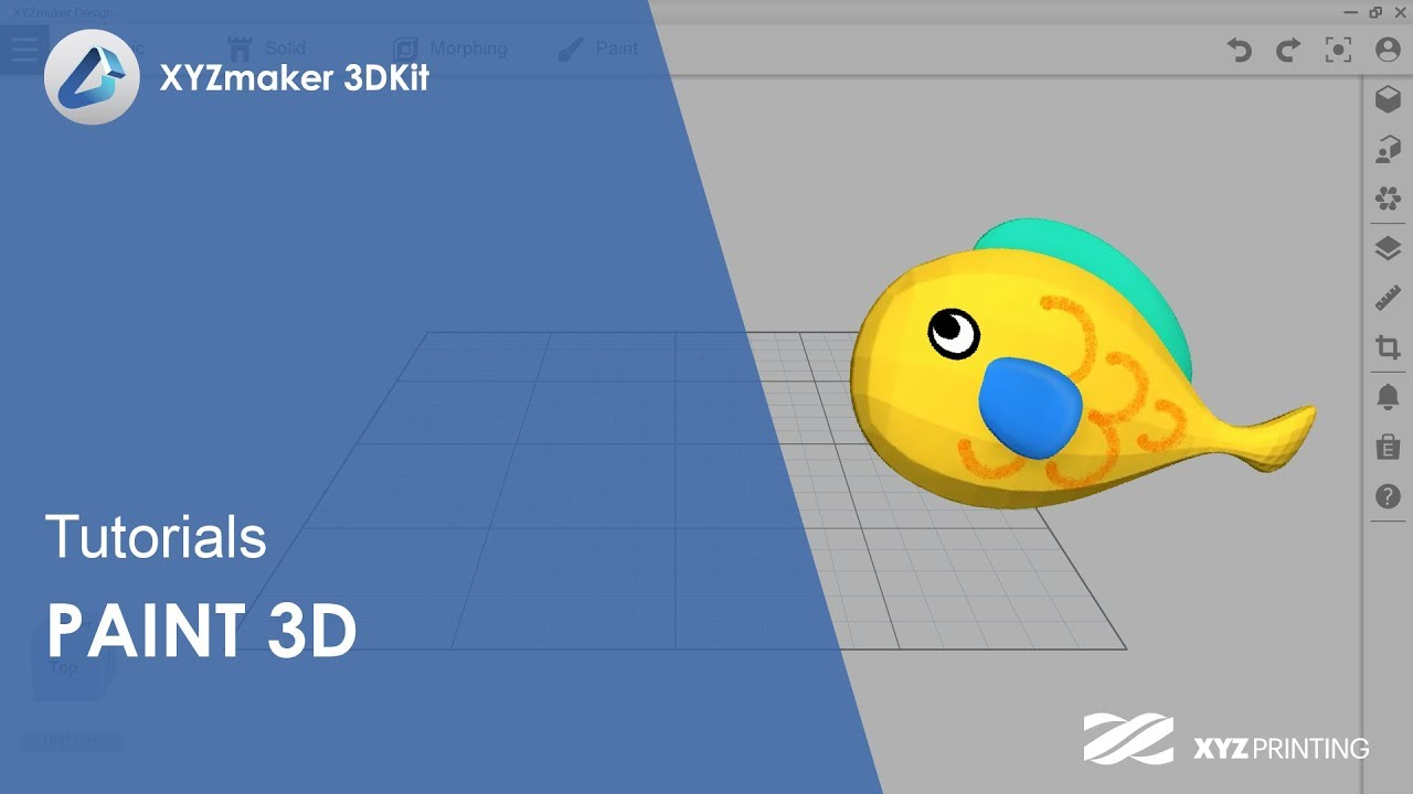 XYZmaker 3DKit Tutorials l Paint 3D