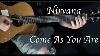nirvana come as you are fingerstyle guitar