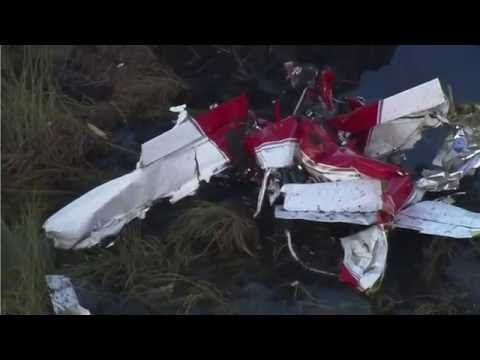 RV-7 experimental plane crashes in South Florida swampland