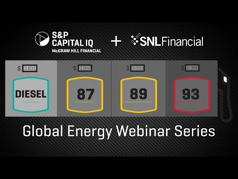 S&P Capital IQ's Global Energy Webinar Series – Interview with Industry Speakers