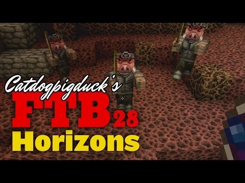 FTB Horizons 1.6.4 - Tinkers Construct Frying Pan of Death - 028