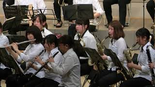 """""""March Shining Road"""" from Takefu Commercial High School Wind Band, the 14th regular concert"""