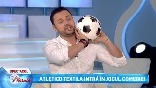 Atletico Textila intra in jocul comediei