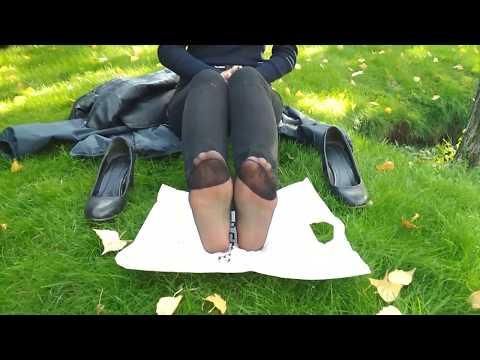 Türk Ayak | Siyah Çorap | Güzel Ayak | Kız Ayağı | Kadın Ayağı |Ayak Fetişi|Türk Kızı |Ayak Yalama