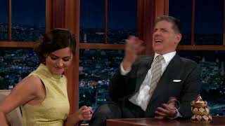 Jenna Louise Coleman Has A Big One on Craig Ferguson