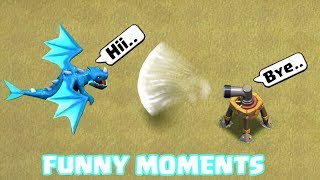 Clash of Clans Funny Moments Montage | COC Glitches, Fails, Wins, and ...