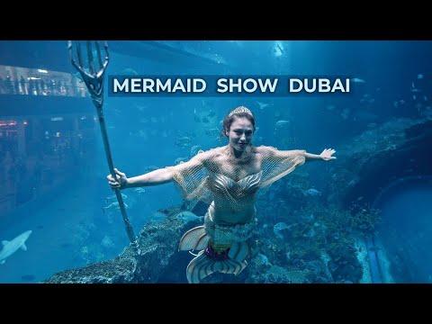 Mermaid Show – Dubai Mall Aquarium