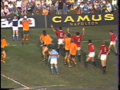 USA vs Australia 1987 Rugby World Cup - Gary Lambert