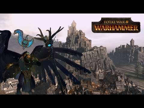 Chaos Warriors and Daemons of Tzeentch Siege of Middenheim - Total War Warhammer Multiplayer Battle
