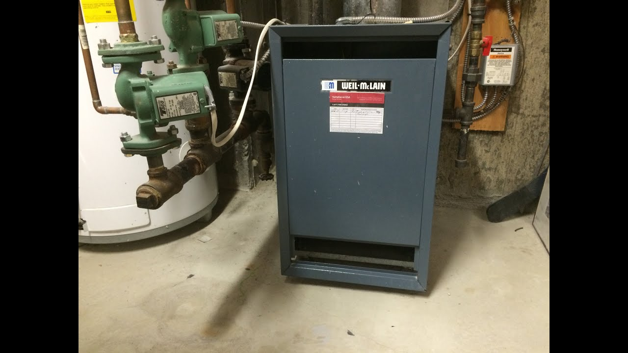 how to fix a weil mclain boiler that keeps running