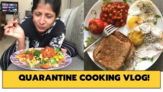 Quarantine Cooking Vlog | India Lockdown 2020 | What I cooked !