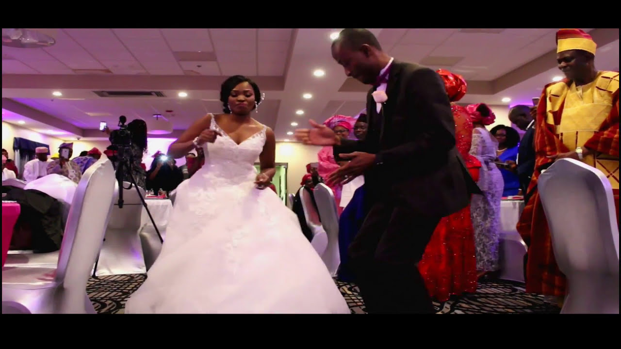 best Nigerian bridal party wedding  entrance dance, Nashville Tn wedding videographer Pierre