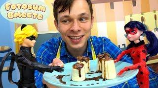 Десерты для детей. Готовим шоколадные бананы.