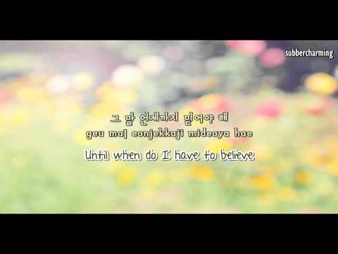 (HD)Park Sang Min  - Lies Saying That You Love Me (사랑한다는 거짓말 ) (eng Sub+rom+hangul)