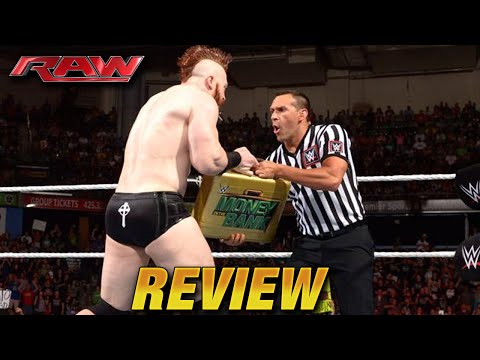 WWE RAW 10 August 2015 REVIEW