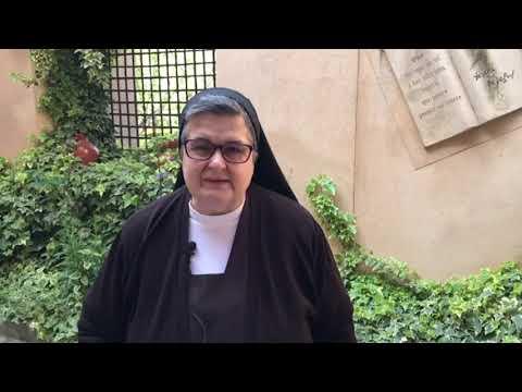 Hna. Luz María, Superiora del Monasterio de la Anunciación del Señor de Alba de Tormes