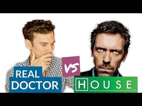 "DOCTOR challenges HOUSE MD  ""Control"" S1E14  Real Doctor Reaction"