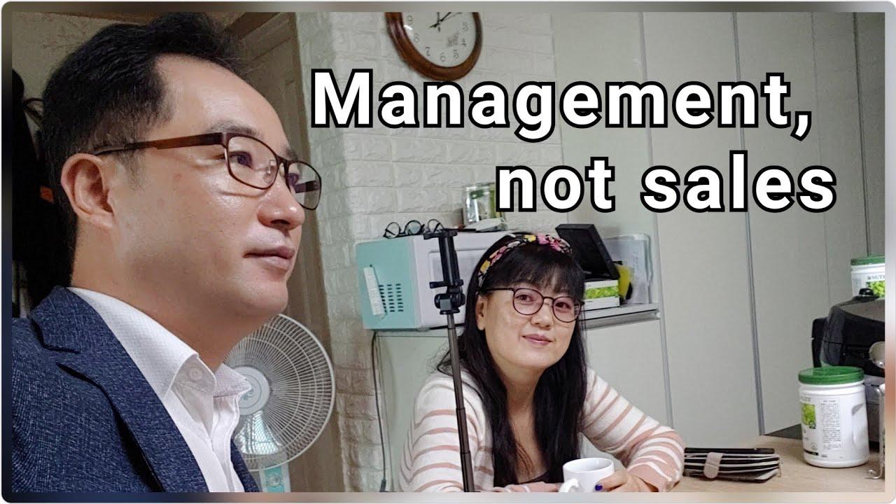 판매 잘하니? 난 못 하는데~  Management, not sales