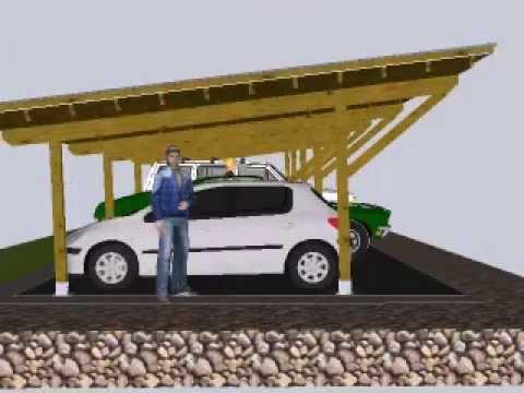 Dise o de porche para coches el park youtube - Porches para coches ...