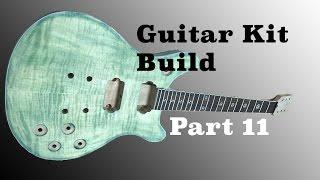 The Guitar Kit Build From Guitar Fetish Part 11 | Finish Sanding