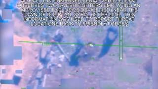 Drone Spys On Terrorists In Syria