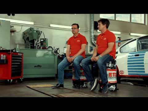 """Im Interview: Rallyefahrer Matthias Kahle und """"Dr. ŠKODA"""" Jens Herkommer"""