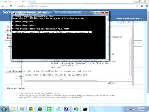 handler webservicehandlerfactory-integrated has a bad module