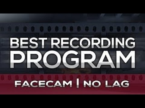 [TUTORIAL] Best Video Game RECORDING Program NO LAG FACECAM Mirillis Action Best Settings