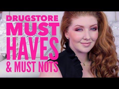 Drugstore Makeup Favorites   Must Haves & Must Nots thumbnail