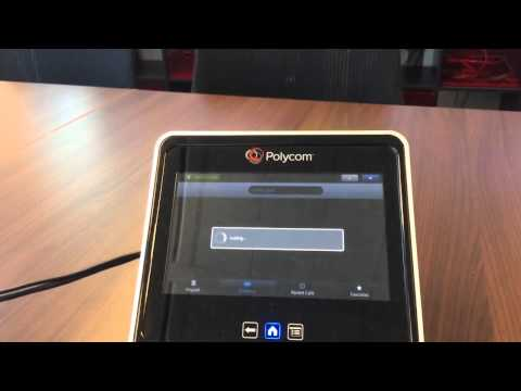 Group Series Touch Panel to Lync AVMCU Escalation