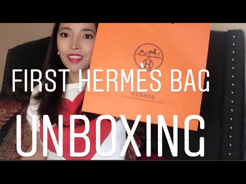 First Hermès Bag Unboxing |Amy Sultan