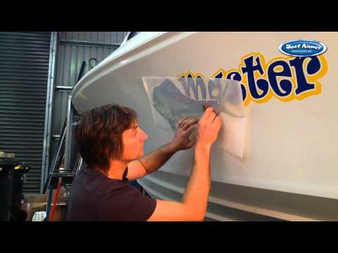 How To Apply Printed Boat Graphics Easily Like A Pro