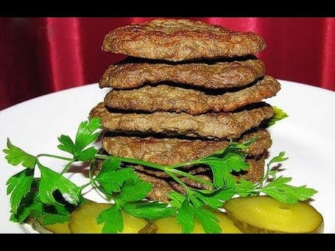 Оладьи из печени с картошкой