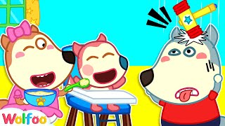 Wolfoo Is the Best Nanny for Jenny  Wolfoo Pretends to Be a Parent | Wolfoo Channel Kids Cartoon